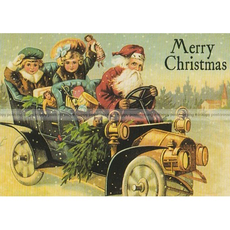 Vintage card for Christmas