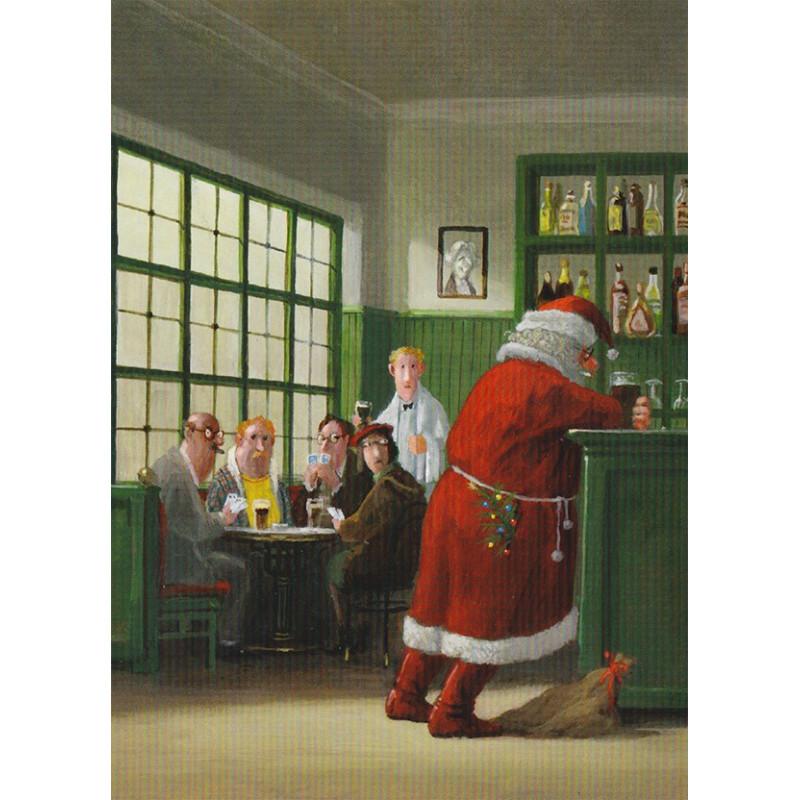 Santa's moment