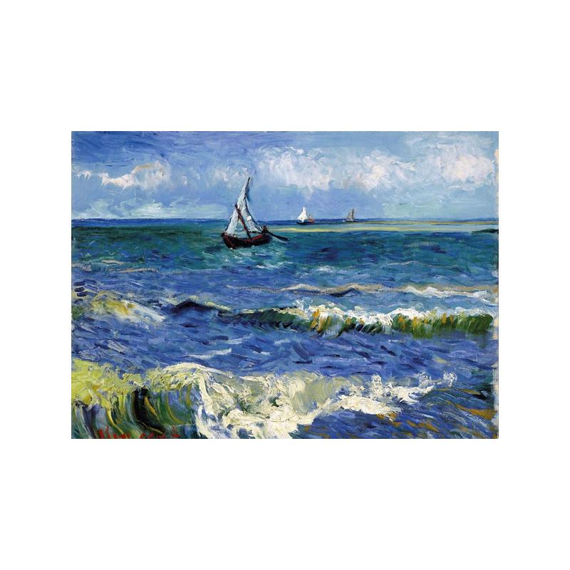 Vincent van Gogh - Zeezicht