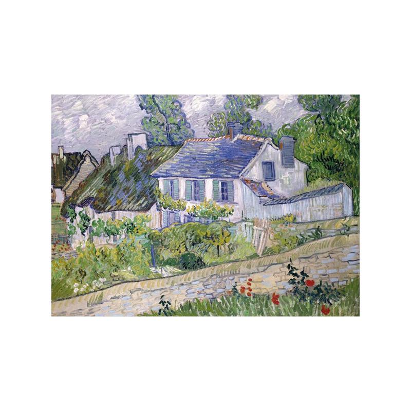 Vincent van Gogh - Houses at Auvers