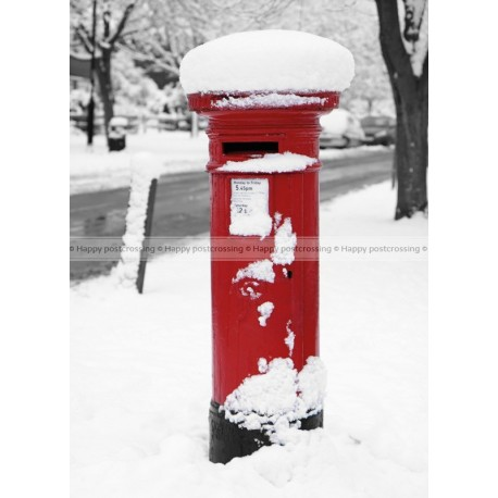 Mailbox in the snow