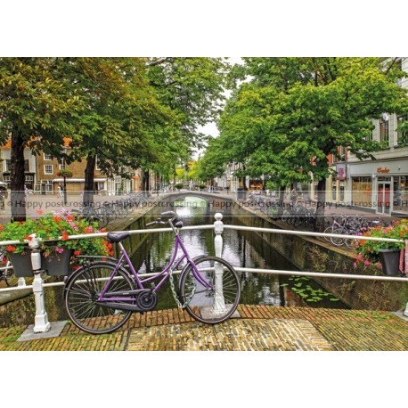 Bike at the canal