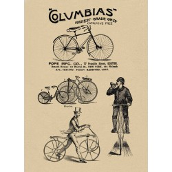 Columbias bicycles