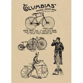 Columbias bicycles