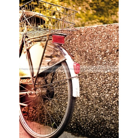 Bicycle close up
