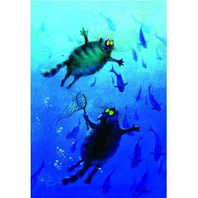Rina Zeniuk Blue Cats - Big Blue