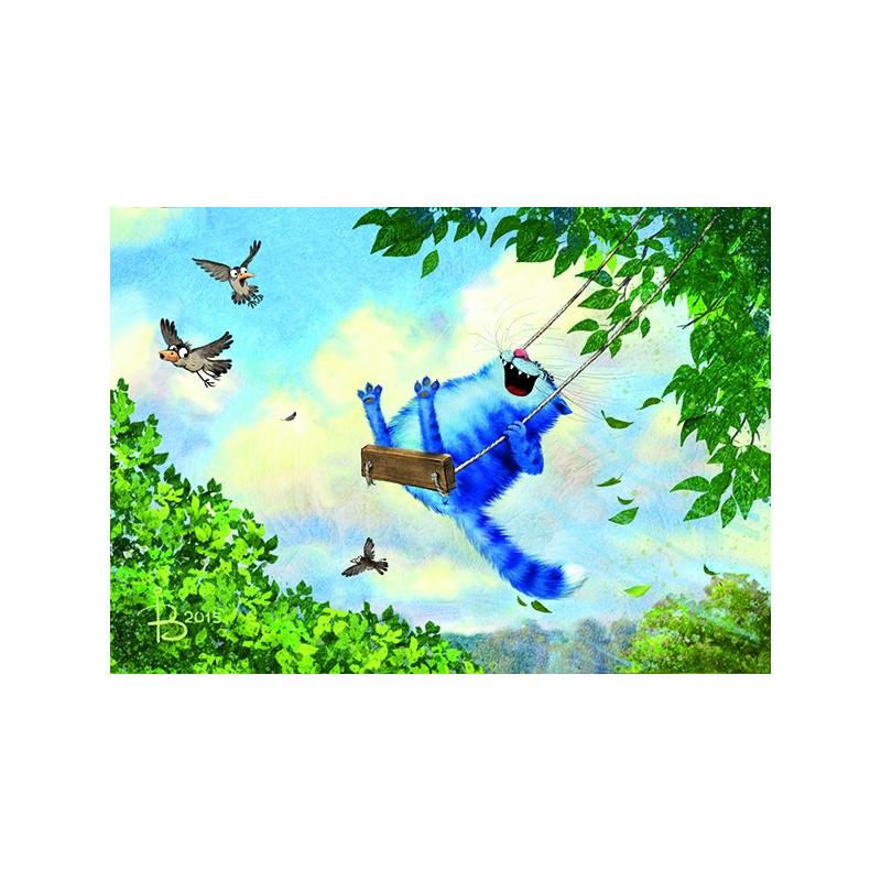 Rina Zeniuk Blue Cats - June