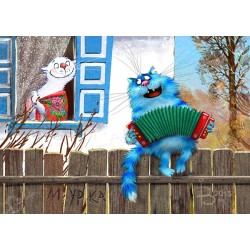 Rina Zeniuk Blue Cats - March