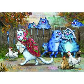 Rina Zeniuk Blue Cats - Gossip