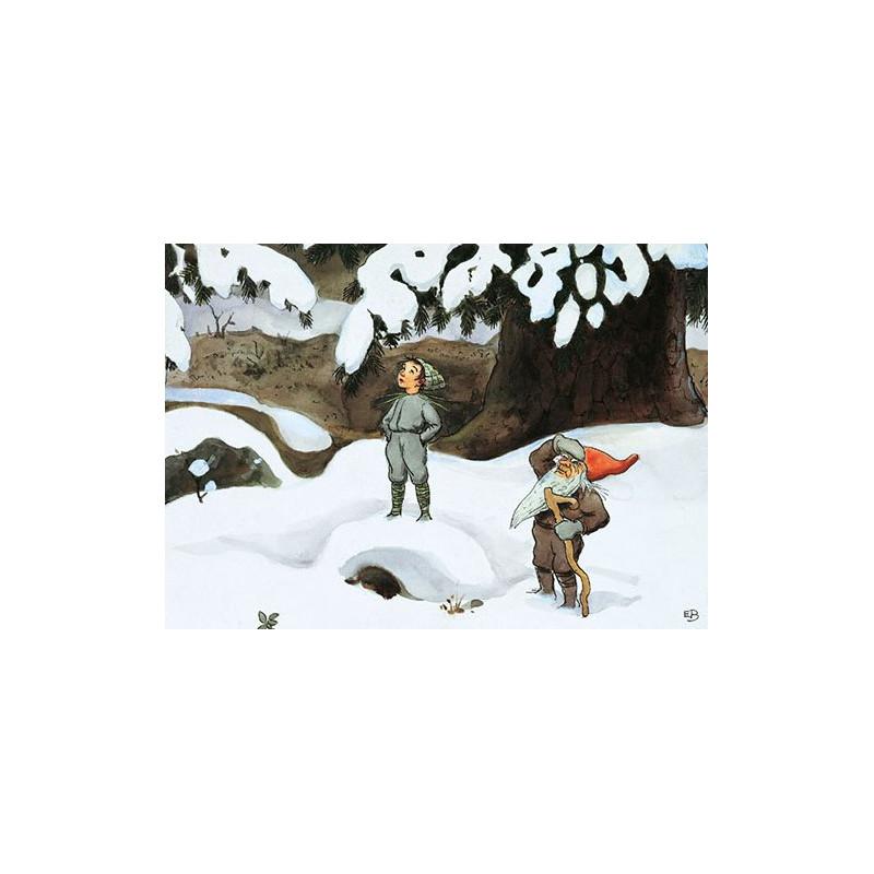 Elsa Beskow - flinke sneeuwval