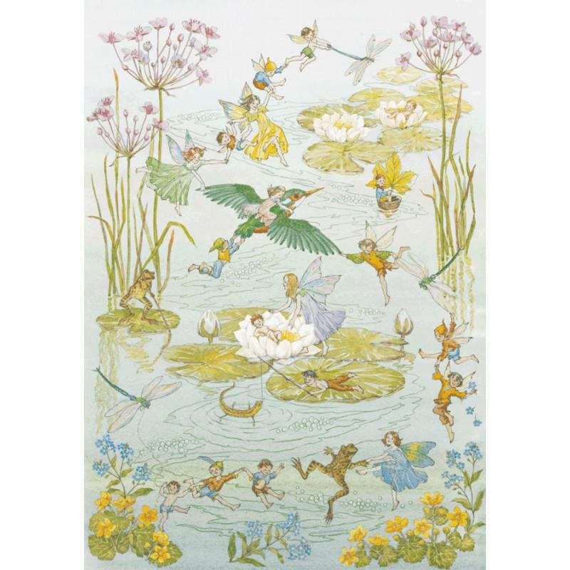 Molly Brett - Fairies and Waterlilies