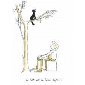 Toon Hermans - Kat uit de boom kijken