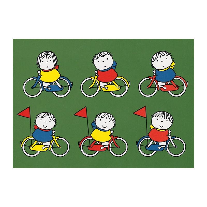 Nijntje - Daan aan het fietsen
