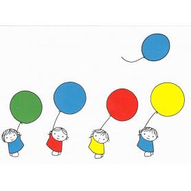 Nijntje - Daan met ballonnen