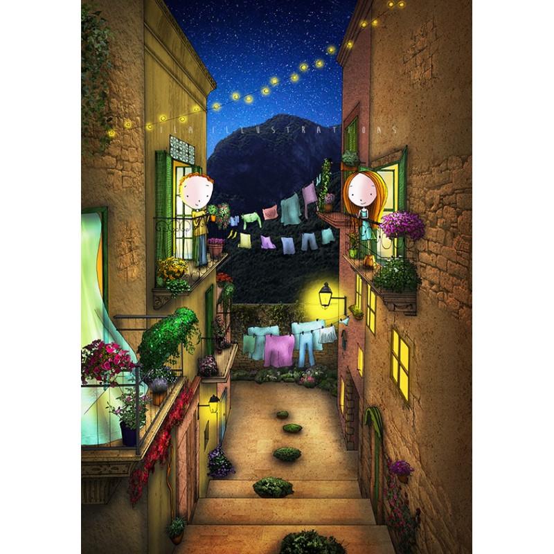 Ila Illustrations - Balconies