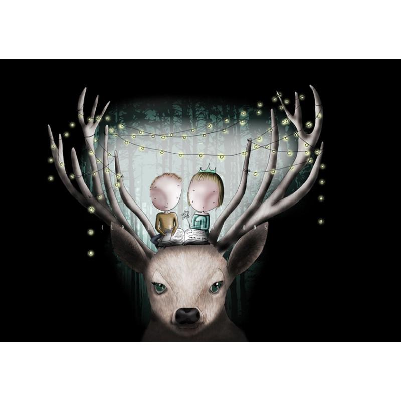 Ila Illustrations - Deer