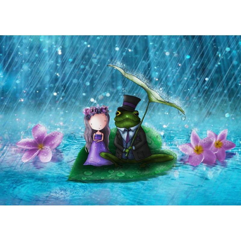 Ila Illustrations - In the rain