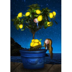 Ila Illustrations - Lemon tree