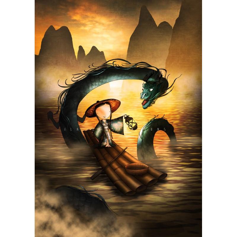 Ila Illustrations - The Dragonking