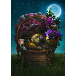 Ila Illustrations - Tiny garden