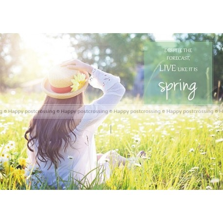 Live like it is Spring