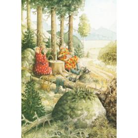 Inge Löök 60 - Kaartje leggen in het bos
