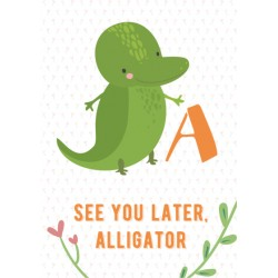Alligator - Alphabet A