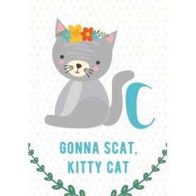 Cat - Alphabet C