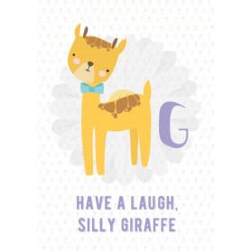 Giraffe - Alphabet G