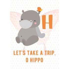 Hippo - Alphabet H
