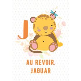 Kitsune Art - Alphabet J