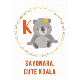 Koala - Alphabet K
