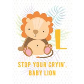 Lion - Alphabet L