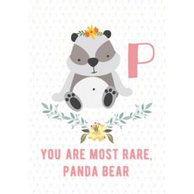 Panda - Alphabet P