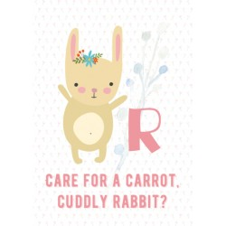 Rabbit - Alphabet R