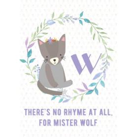 Wolf - Alphabet W