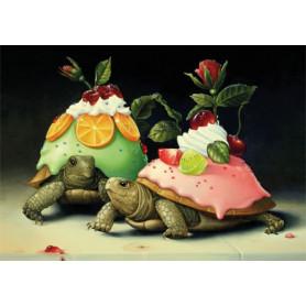 The slowest dessert