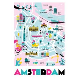 Mingface - Map Amsterdam