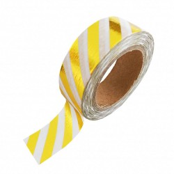 Studio Stationery Washi tape - Gold foil stripe