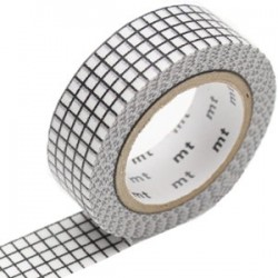 MT Masking Washi tape - Hougan black