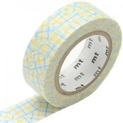 MT Masking Washi tape - Collage yellow