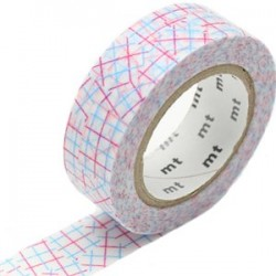 MT Masking Washi tape - Collage pink