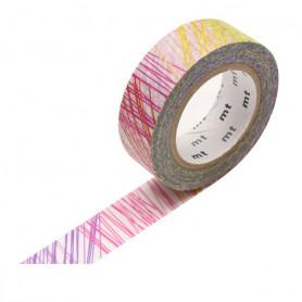 MT Masking Washi tape - Scribble