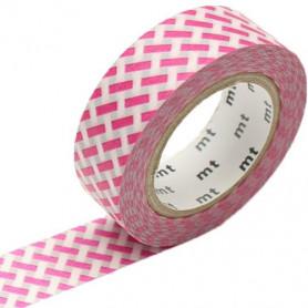 MT Masking Washi tape - Net check pink