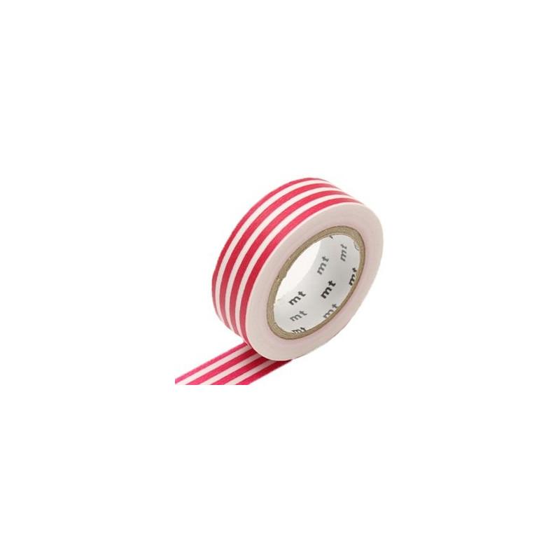 MT Masking Washi tape - Border framboise