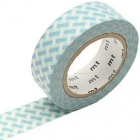 MT Masking Washi tape - Net check blue
