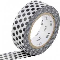 MT Masking Washi tape - Dot black 2
