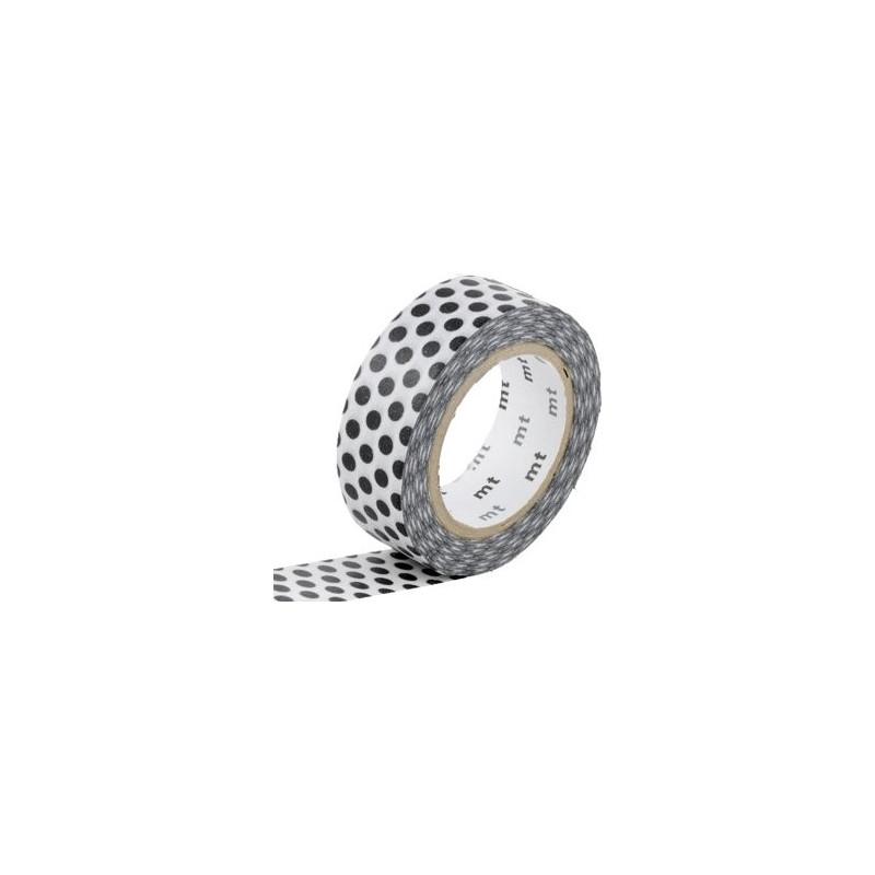 MT Masking Washi tape - Dot black 2