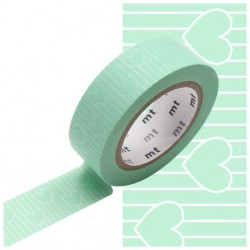 MT Masking Washi tape - Heart line