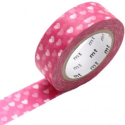 MT Masking Washi tape - Heart spot